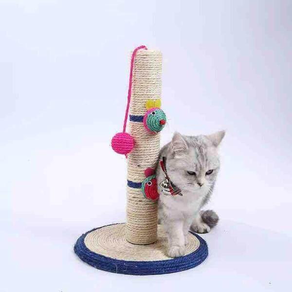 【Sẵn Sàng】 Đồ Chơi Cho Mèo Cào Với Chuột Cào Cực Cây Ban Chung Cư Đồ Chơi Trong Nhà