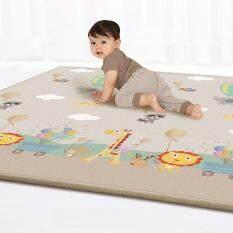 [ready stock]Baby Portable Folding Play Mat Anti-Slip Waterproof Crawling Carpet