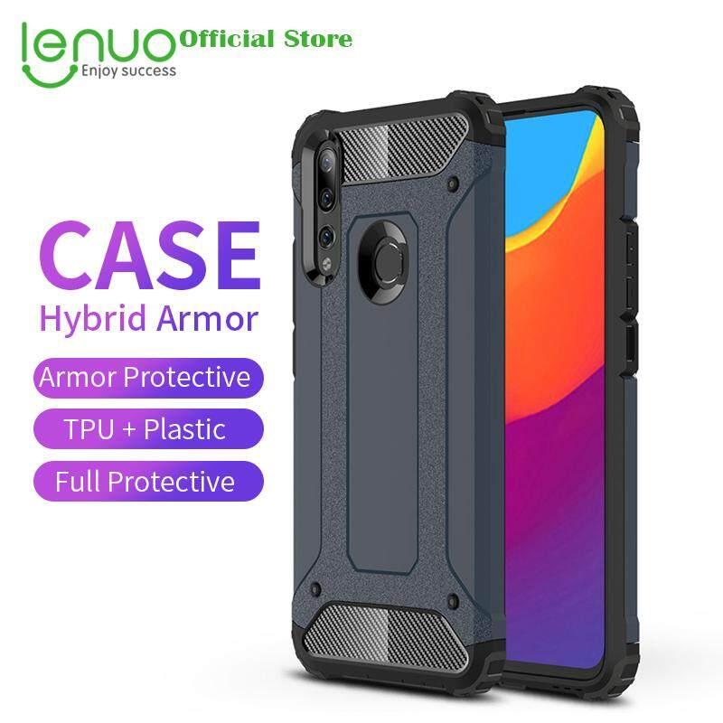 Lenuo Casing untuk Huawei P Smart Z dan Y9 Prime 2019 Casing Hibrid Armor Case S TPU Kasar + Keras Sarung Plastik Casing untuk Huawei y9 Prime 2019