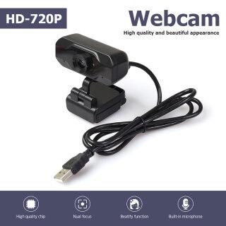 Webcam 720P HD Tích Hợp Micro HD Camera Web USB Cho Máy Tính Để Bàn Máy Tính Xách Tay thumbnail