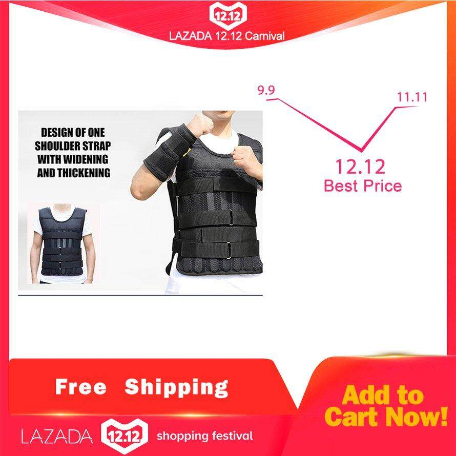 Jual Pemberat Tubuh Latihan Fitness Murah Alat Bending Tangan Kaki 1kg Osman 1 50kg Adjustable Weighted Vest Workout Exerciser For Boxing Training