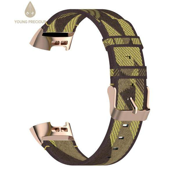 Nylon Replacement Wrist Band Strap for Fitbit Charge 4 3 SE Fitness Tracker Malaysia