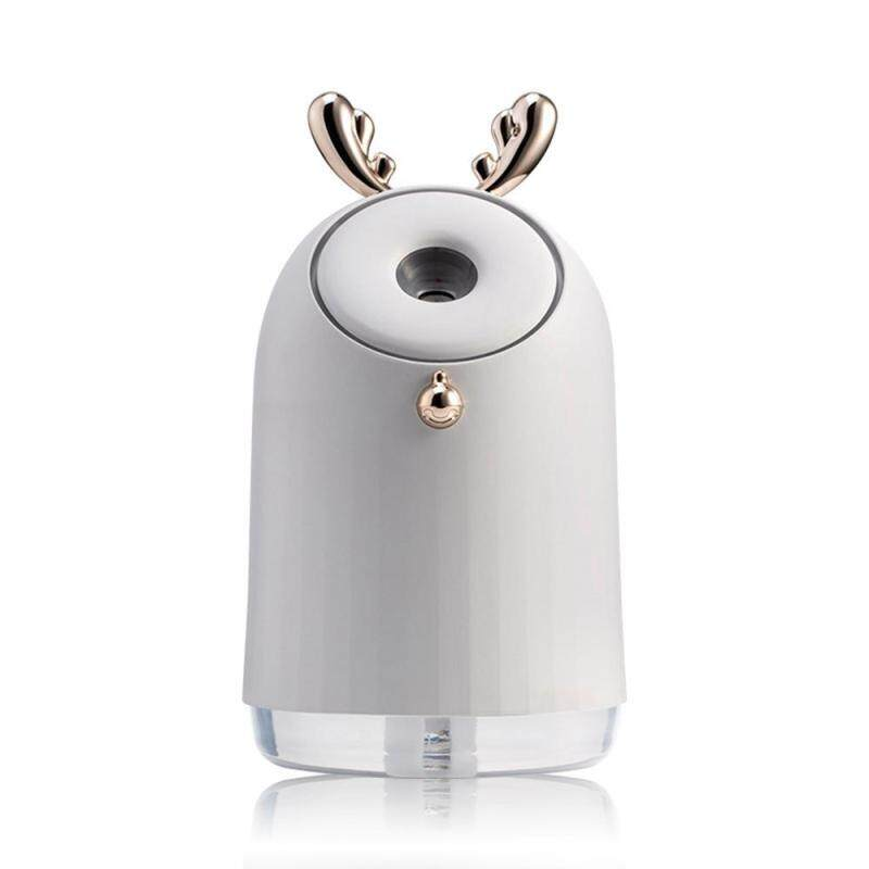 leegoal Cute Mini Humidifier Multi-function Air Purifier With Colorful Lights Usb Charging Portable Three-in-one Aroma Diffuser For Home/Car Singapore