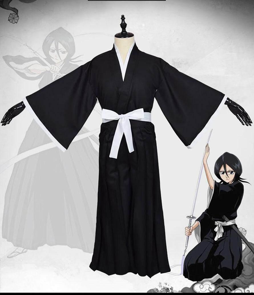 Japanese Anime  Kendo pants BLEACH Kurosaki ichigo kimono pants Cosplay Costume