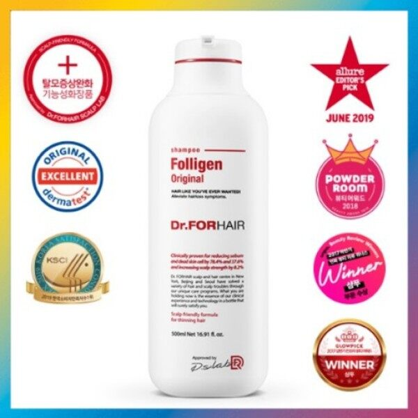 Buy Dr. For Hair Folligen Plus Shampoo 500ml Singapore