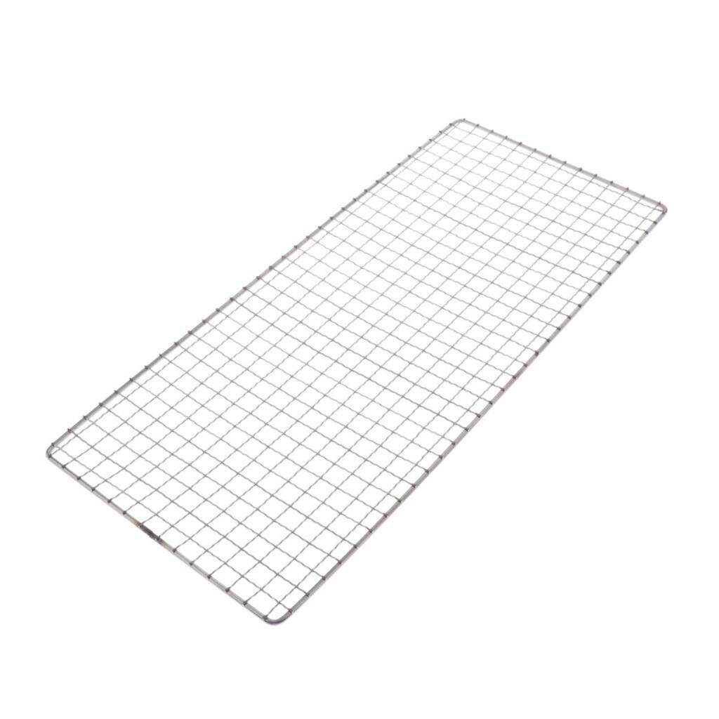 Blesiya Barbecue Wire Mesh Stainless Steel BBQ Grill Mat