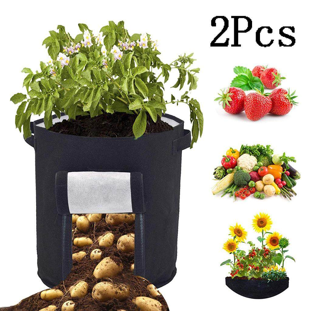 Malonestore Plant Grow Bags Nonwoven Cloth Pot Gardening Bag Vegetable,Potato Planter Bag