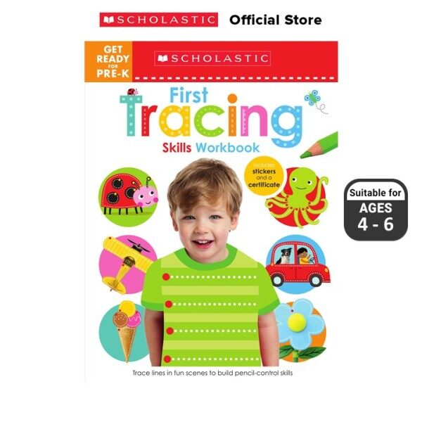 SEL: First Tracing Skills Workbook (Get Ready for Pre-K) (ISBN:9789814864589) Malaysia