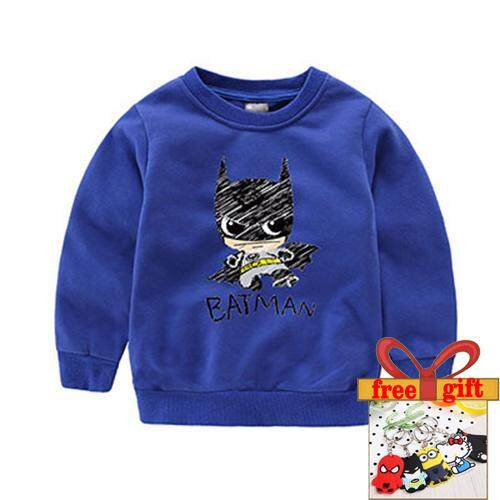 bef48ddd2 Kids New Spring 100% Cotton Children Clothing Baby Boy Girls Clothing Full  Sleeves Tee Kids