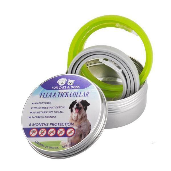 2Pcs Universal Pet Cổ Áo Cho Chó Mèo Bảo Vệ Chống Lại Flea Muỗi Bọ Ve Chí Tự Nhiên Tẩy Giun Tinh Dầu Vật Nuôi Cổ Áo