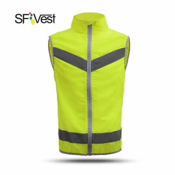 SFVest High Visibility Reflective Safety Vest (M)