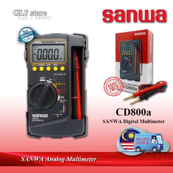 ORIGINAL SANWA CD800a DIGITAL MULTIMETER CD-800a SANWA MULTITESTER SANWA METER (100% AUTHENTIC)