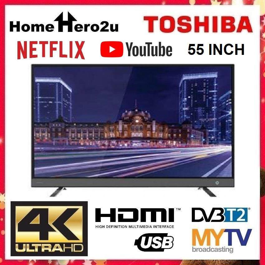 Toshiba 55U4750VM 55 Inch 4K UHD Smart LED TV with Youtube and Netflix - Homehero2u