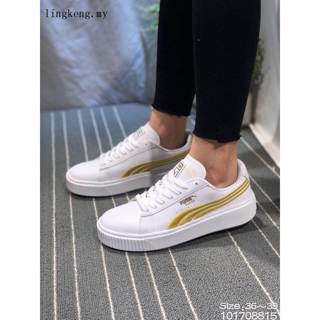 705a67f5d6e5 New Arrival WOMEN Puma Suede Classic Rihanna casual fashion sneaker white  shoes