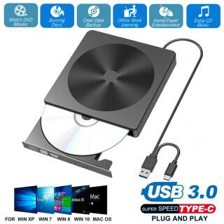TAIHOM Đầu Đọc Ổ Ghi DVD RW CD Gắn Ngoài Mỏng USB 3.0 Đầu Đọc Ổ Đĩa Quang Cho Máy Tính Xách Tay Windows Mac DVD Burner DVD Portatil thumbnail