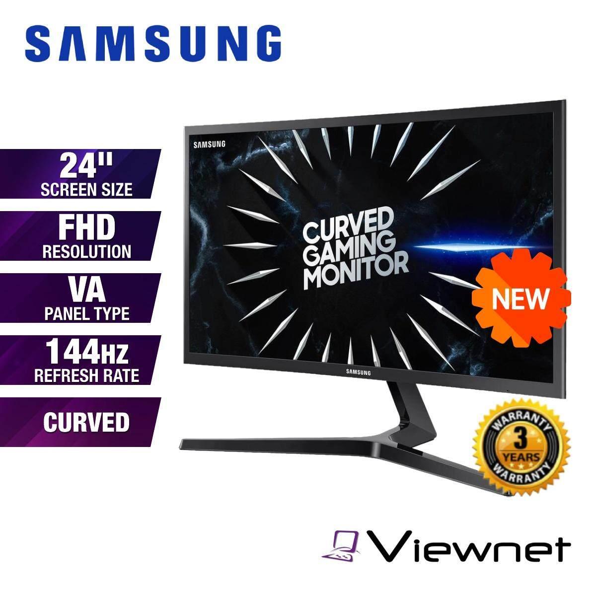 Samsung C24RG50FQE 24  Full HD VA 144Hz 4ms FreeSync Curved LED Gaming Monitor (LC24RG50FQEXXM) Dual HDMI, DisplayPort, Headphone Jack, Eye Saver Mode, Flicker Free, Game Mode Malaysia