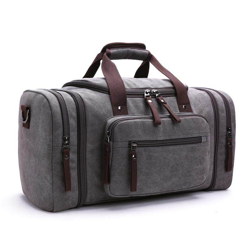 Fashion Top Canvas Travel Handbag For Man Women Weekend Bag Big Capacity Bag  Travel Carry on cac4f0312b
