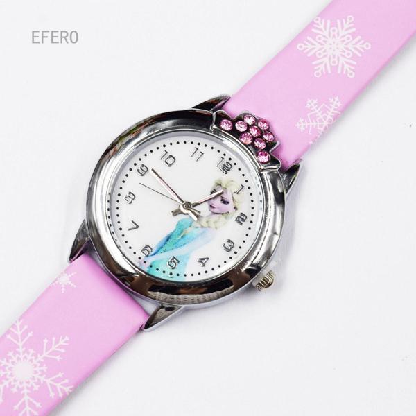SFM 1PC Elsa Anna Quartz Wrist Watch Gift For Girl Kids Children Kid Child Anime Cartoon Snow Queen Princess Clock Malaysia
