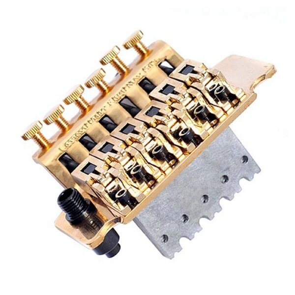 1 package Gold Guitar Tremolo Bridge Parts System Malaysia