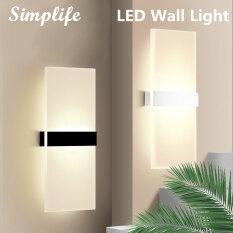 Simplife Khối Lập Phương Treo Tường Đèn LED Đèn Treo Ngoài Trời Trong Nhà Thiết Bị Cố Định Đèn Chiếu Sáng Trang Trí