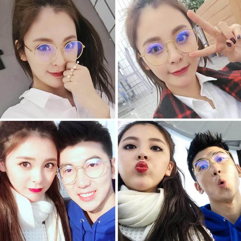 Korean Round Spectacle Reading Glasses For Harry Potter Metal Frame Glasses Plain Mirror Presbyopia Male Female Reading Glass