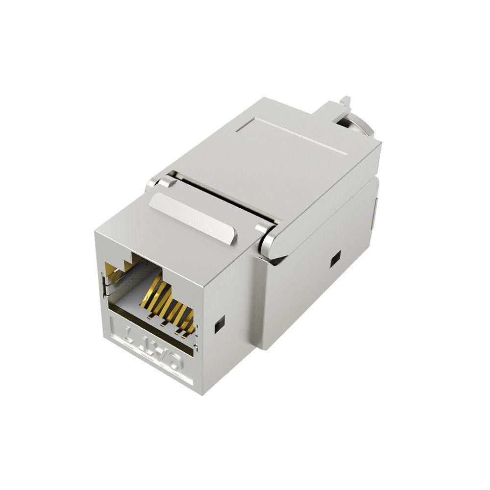 Giá Chính Hãng Vention CAT7 Dây Cáp Mạng Nối 10Gigabit RJ45 Khớp Nối Cat7 LAN Cổng Kết Nối Mạ Vàng Ethernet Mô Đun