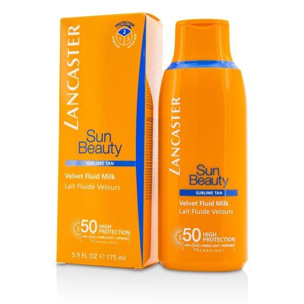 Buy LANCASTER - Sun Beauty Velvet Fluid Milk SPF50 175ml/5.9oz Singapore
