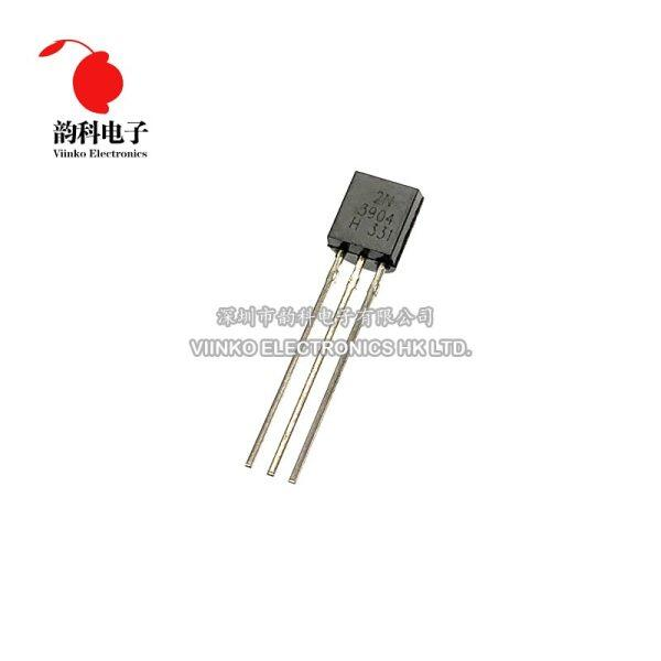 100PCS 2N3904 TO-92 TO92 NPN General Purpose Transistor New