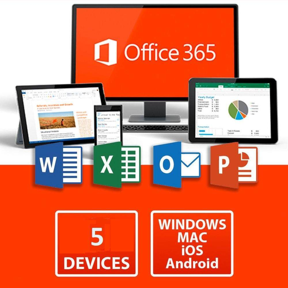 Microsoft Office 365 (2016/2019 Version) For Windows And Mac [chat Us For Free Delivery] By My-Deals.
