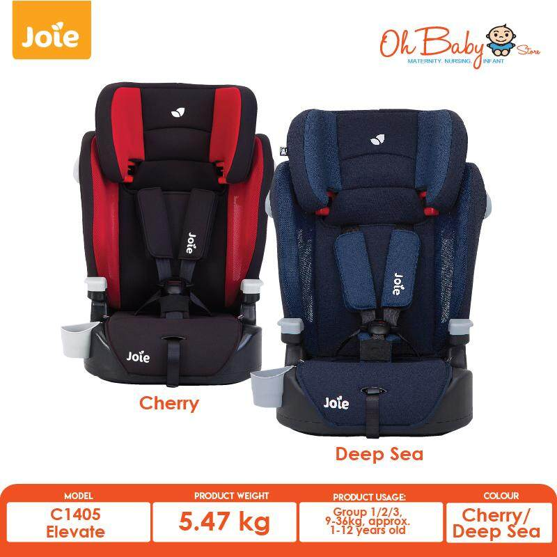 Joie Elevate Booster Car Seat 9 Months 12 Years