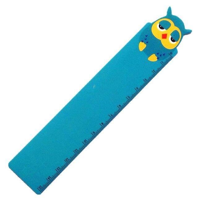 Mua 40 cái/lốc MỚI Hoạt Hình Hình Búp Bê Series PVC Thước Bookmark 15 CM thước thẳng Bán Buôn Vận chuyển Miễn Phí!