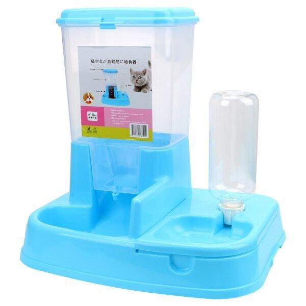1 Bộ Chó Mèo Bát Uống Nước Cho Thú Cưng Máy Cho Vật Nuôi Ăn Tự Động Đồ Dùng Cho Chó Dung Tích Lớn Dispenser Cho Chó Mèo Ăn