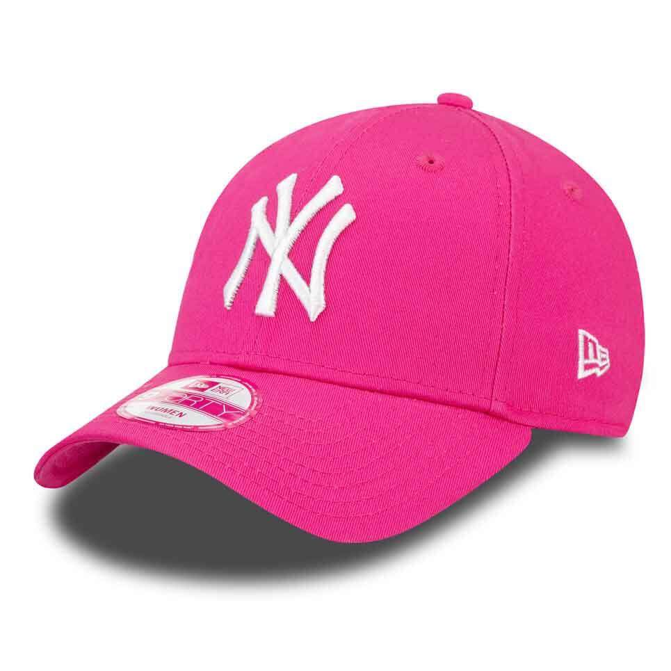 1e773c78f5a1b New era 9 Forty New York Yankees Pink   White One Cap
