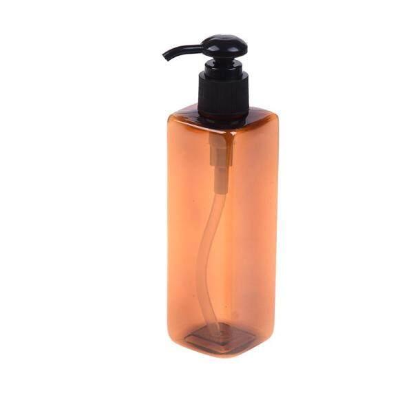 【yushisupplies】1PC Hand Pump Plastic 250ML Bathroom Liquid Soap Dispenser Shampoo Bottle