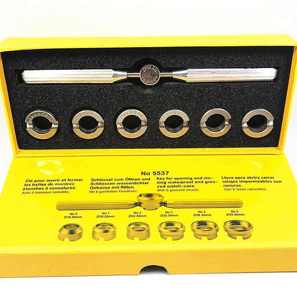 7 Pcs Kit Opener Gadgets Back Repair Tool Case Watch Watchmaker