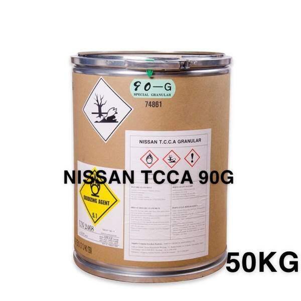 Chlorine NISSAN TCCA 90G 50KG (Japan) Trichloroisocyanuric Acid (Pool Chlorine)