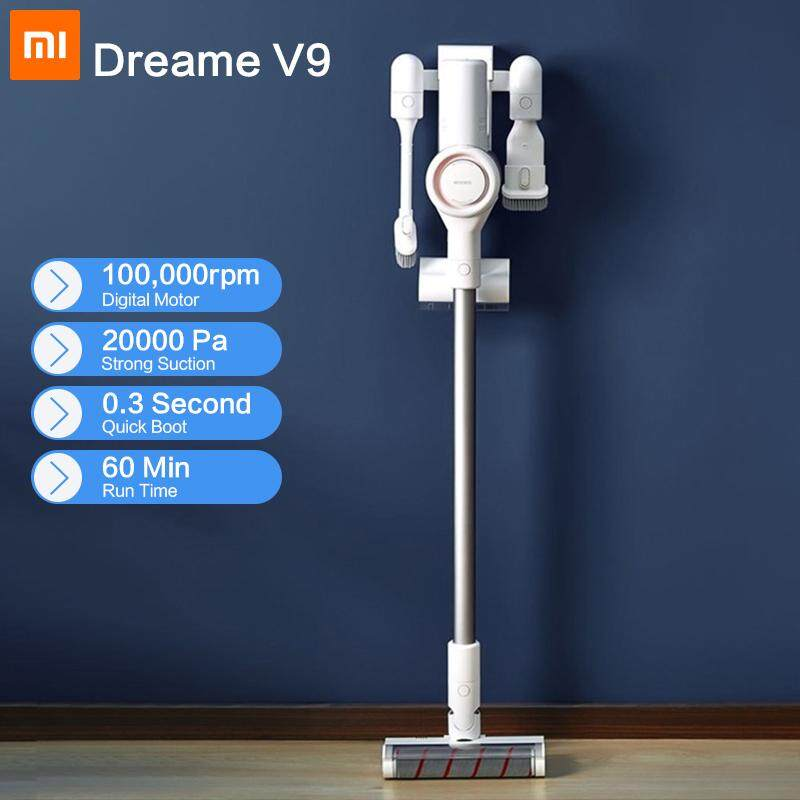 [free Shipping] [6 Months Warranty] Dreame V9 Handheld Cordless Vacuum Cleaner Protable Wireless Cyclone Filter 115aw Strong Suction Carpet Dust Collector For Home By Xiaomi Global Store.
