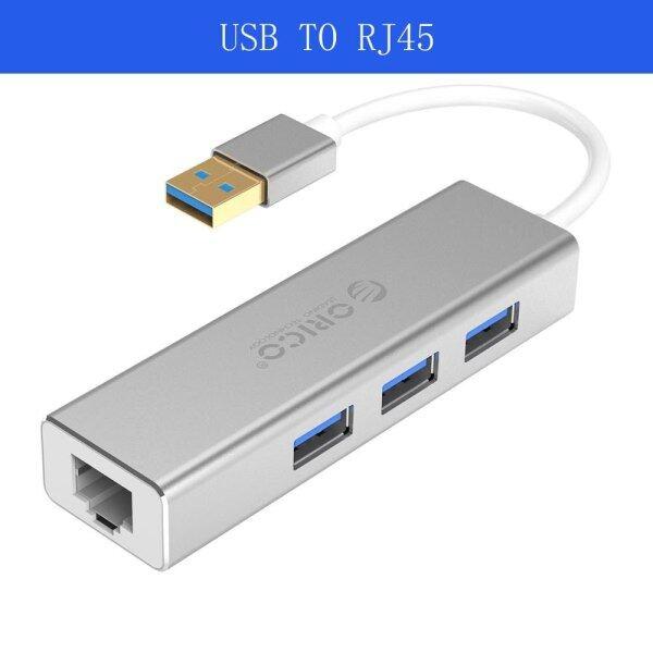 Bảng giá ORICO HUB USB Ethernet Loại C USB3.0 Sang RJ45, Dành Cho Macbook Pro Bộ Chuyển Đổi Ethernet Hợp Kim Nhôm Card Mạng USB 1000MBPS Lan Phong Vũ