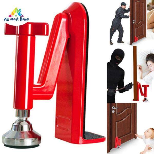 ABH Door Security Devices Portable Door Stopper Jammer Doors Lock Brace for Bedroom Hotel Home Bar