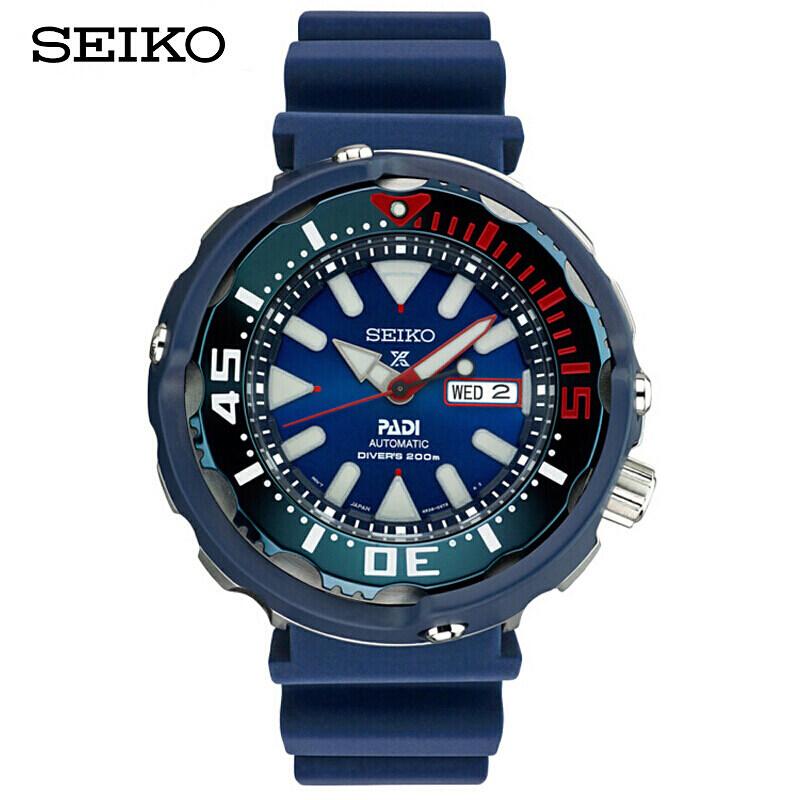[SEIKO] Seiko Watch PROSPEX Luminous 200-meter Diving Mechanical Watch PADI Special Mens Watch SRPA83J1 Malaysia