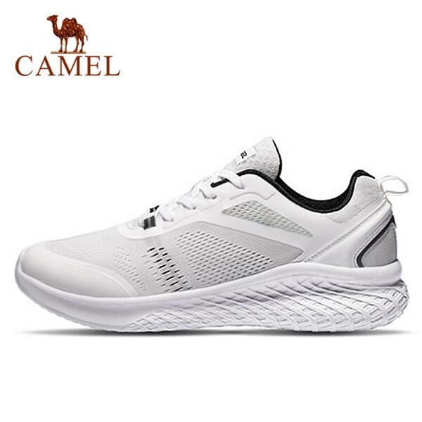 Camel Giày thể thao nam chất liệu vải lưới thoáng khí phối đế bao su mềm mại chống trượt kiểu dáng đơn giản thích hợp tập thể thao đi ngoài trời - INTL