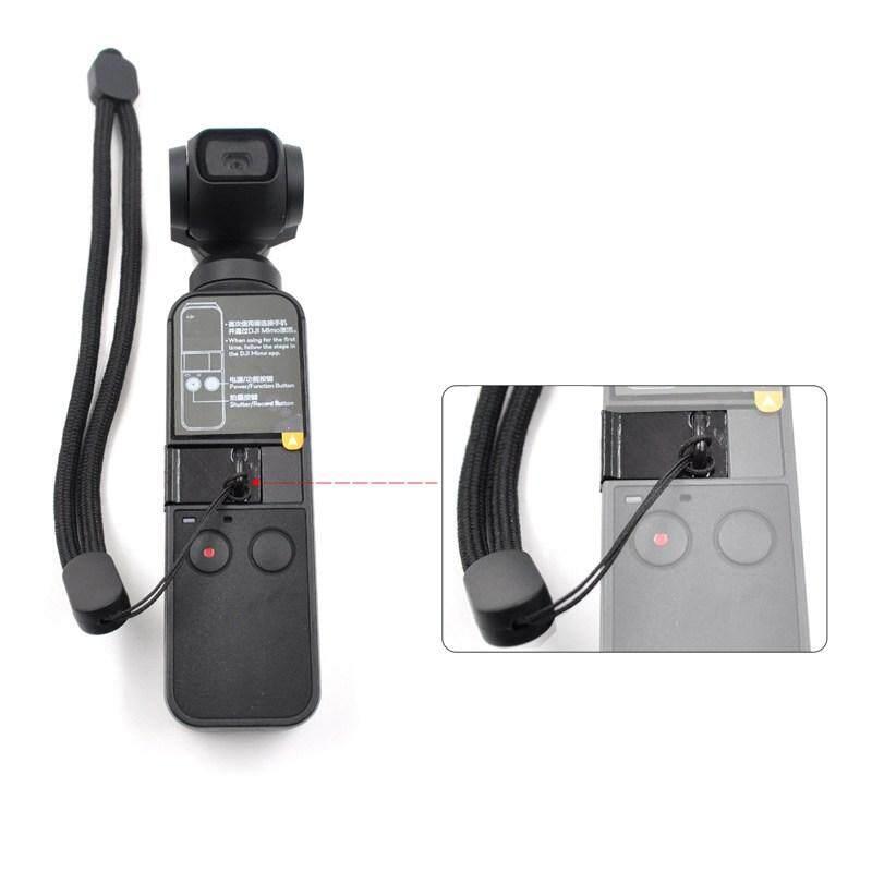 Qooiu 【free Gift】profesional Startrc/osmo Saku Safety Lanyard Multifungsi Diy Genggam Tali Untuk Dji Osmo Saku Kamera Universal By Qooiu.