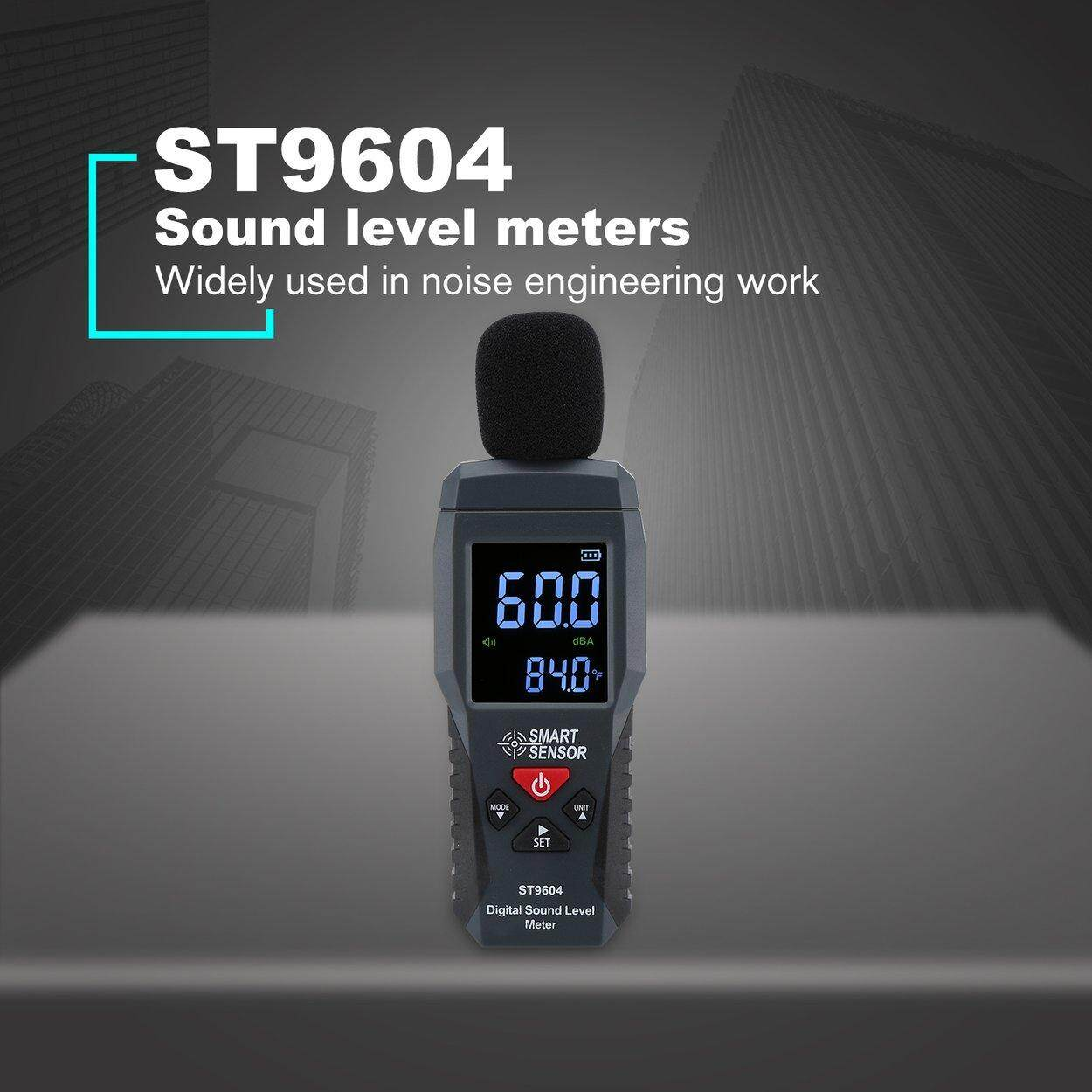 Best Deal SMART SENSOR ST9604 Sound Level Meters Decibel Meter Logger Noise Detector