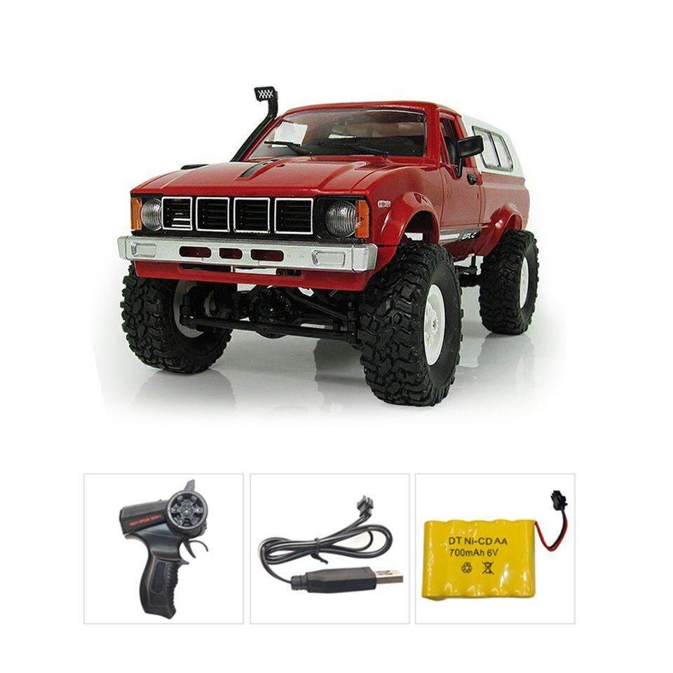 Penjual Terbaik C-24 4WD 1:16 Mobil Kendali Jarak Jauh Off Road Crawler Climbing Mainan dengan Lampu Rtr