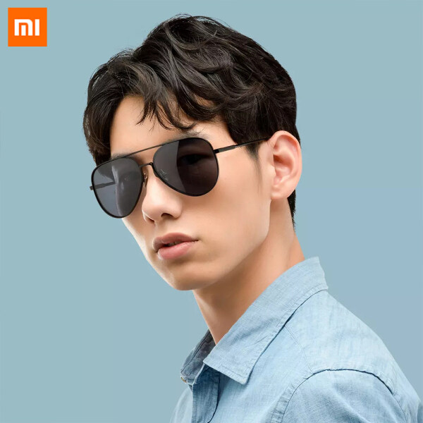Xiaomi Mijia Aviator Sunglasses Gray Lens UV400 Can Effectively Block Ultraviolet Rays Effectively Filter Glare With Self-healing Ability For Driving Travel