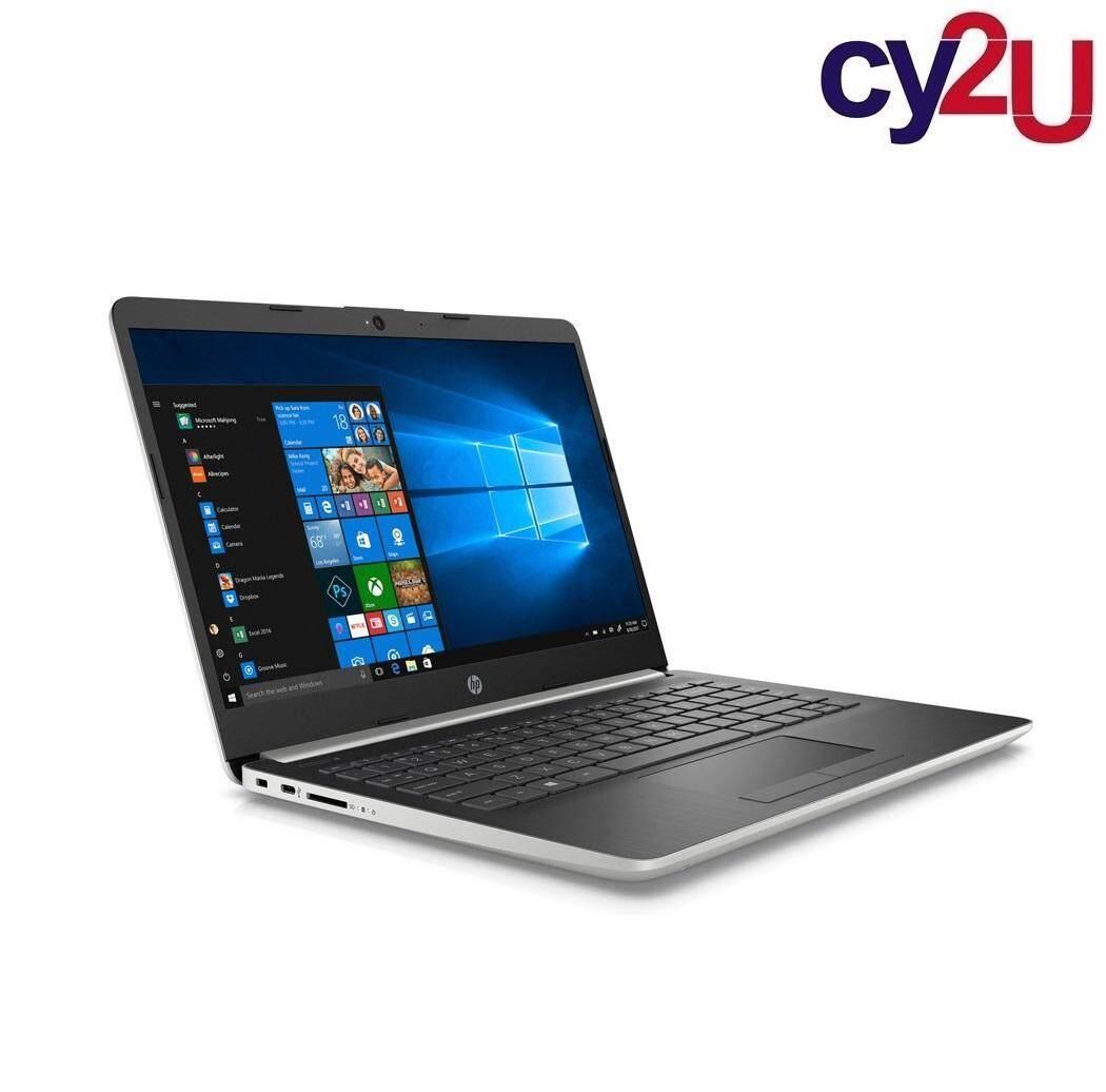 HP 14s-dk0107AU 14 FHD Laptop - Natural Silver (AMD Ryzen 5 3500U, 4GB RAM, 256GB SSD, AMD Radeon Vega 8, Win10) + HP Backpack Malaysia
