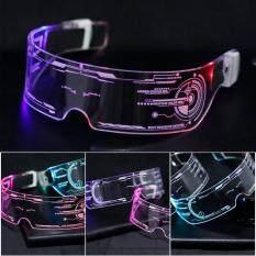Kính LED, Kính Mắt Phát Sáng Đầy Màu Sắc Cho Nam Nữ