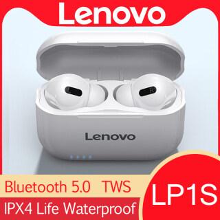 Lenovo LP1S TWS Bluetooth 5 .0 Tai Nghe Giảm Tiếng Ồn Tai Nghe Có Mic Không Dây Âm Thanh Nổi Cảm Ứng Âm Thấp HIFI thumbnail