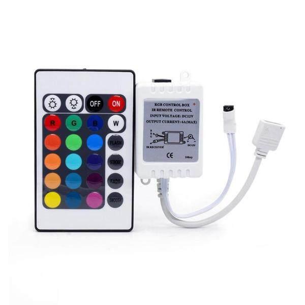 Bảng giá 24 Phím LED RGB Điều Khiển DC12V Điều Khiển Từ Xa IR Cho Đèn LED Dải