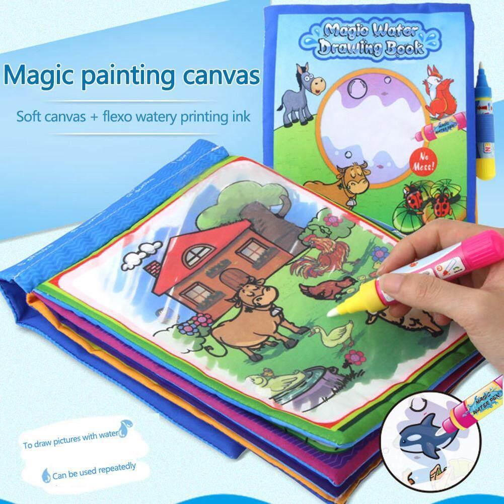 Mua Trẻ em Đầu Giáo Dục MAGIC Doodling Nước Vẽ Thảm Sách Vải